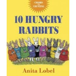 10 Hungry Rabbits: Counting & Color Concepts (Board Book)