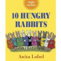 10 Hungry Rabbits: Counting & Color Concepts (*Carton of 60 Board Books)