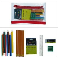 Back to School Kit Pencils with Crayons (*Carton of 48 Kits)