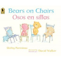 Bears on Chairs / Osos en Sillas (Bilingual, English/Spanish)
