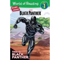 Black Panther: This is Black Panther (World of Reading, Level 1)