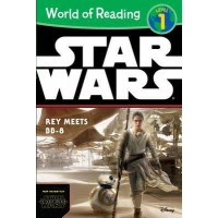 Star Wars: The Force Awakens: Rey Meets BB-8 (World of Reading, Level 1)