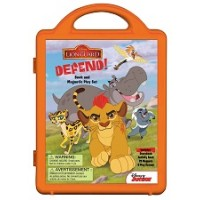 The Lion Guard: Lion Guard, Defend! Book and Magnetic Play Set