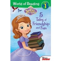 Sofia the First: Five Tales of Friendship and Fun (World of Reading, Level 1)