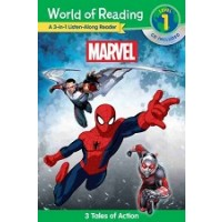 Marvel 3-in-1 Listen-Along Reader (World of Reading, Level 1)