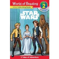 Star Wars 3-in-1 Listen-Along Reader (World of Reading, Level 2)