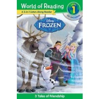 Frozen: 3-in-1 Listen-Along Reader (World of Reading, Level 1)