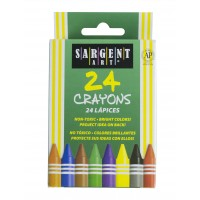 Crayons, Tuck Box, 24/Box (*Carton of 36 Packs)