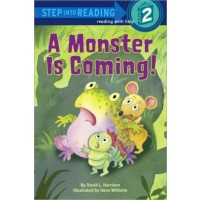 A Monster is Coming! (Step Into Reading, Level 2)