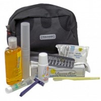 Adult Hygiene Kit in a Toiletry Case