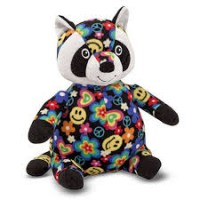 Melissa & Doug Beeposh Razzle Raccoon Stuffed Animal