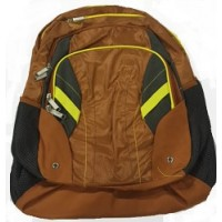 Backpack: High School Style, Burnt Orange/Yellow