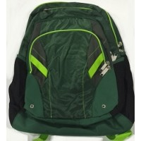 Backpack: High School Style, Green/Neon