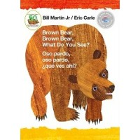 Brown Bear, Brown Bear, What Do You See? / Oso pardo, oso pardo, qué ves ahí? (Bilingual Board Book, English/Spanish, First Book Special Edition)