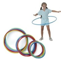 Medium Candy-Striped Hoops (Pack of 12)