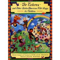 De Colores and Other Latin American Folksongs for Children (Bilingual, English/Spanish)