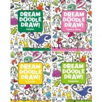 Dream, Doodle & Draw Coloring & Activity Book Assortment (24 Activity Books)