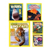 National Geographic Everything Series Collection (24 Paperbacks)