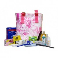 Feminine Hygiene Kit in a Tote Bag