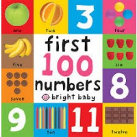 Bright Baby: First 100 Numbers (Board Book)