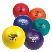 "6"" Gator Skin® Softi Ball, Red"