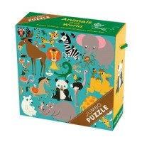 Jumbo Puzzles: Animals of the World