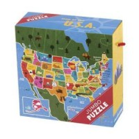 Jumbo Puzzles: Map of the U.S.A.