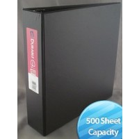 "Binder: 1.5"", 3 Ring, Assorted Colors (Carton of 25)"