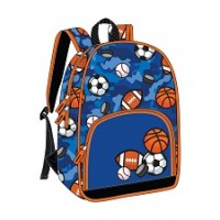 Backpack: Primary Style, Sports Print