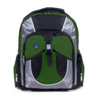 Backpack: Junior High Style, Green