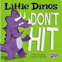 Little Dinos Don't Hit (Board Book)