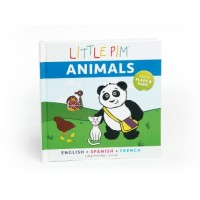 Little Pim: Animals (Multilingual, English/Spanish/French) (Board Book)