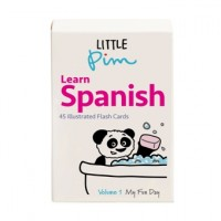Little Pim Spanish Word & Phrase Flash Cards (Vol. I)