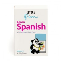 Little Pim Spanish Word & Phrase Flash Cards (Vol. II)