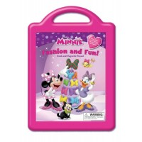 Minnie: Fashion and Fun! (Book and Magnetic Playset)