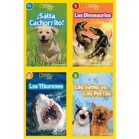 National Geographic Readers in Spanish Collection (36 Paperbacks)