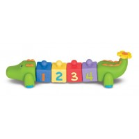 Melissa & Doug Pop Blocs Crocodile