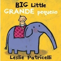 Big Little / Grande pequeño (Bilingual Board Book, English/Spanish)