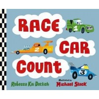 Race Car Count (Board Book)