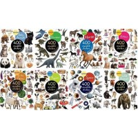 Reusable Photographic Stickers Collection (40 Sticker Books)