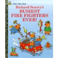 Little Golden Book: Richard Scarry's Busiest Firefighters Ever