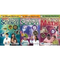 Science and Math Mysteries Collection (9 Paperbacks)