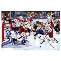 Melissa & Doug Slap Shot! Floor Puzzle (48 Pieces)