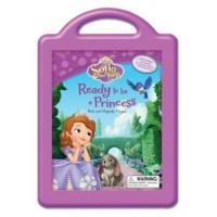 Sofia the First: Ready to be a Princess (Book and Magnetic Playset)
