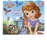 Sofia the First: Royal Lessons (Board Book)