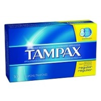 Tampons: Regular, 10 Count Box (*Carton of 12 Boxes)
