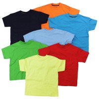 T-Shirt: Boys, Assorted Colors & Sizes (*Carton of 24 Shirts)