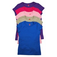 T-Shirt: Girls, Assorted Colors & Sizes (*Carton of 24 Shirts)