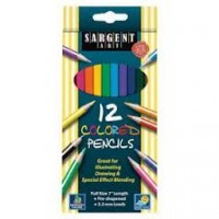 "Colored Pencils: 12 Count Box, 7"" (Carton of 72 Boxes)"