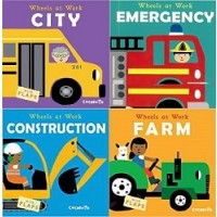 Wheels at Work Collection (40 Board Books)